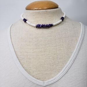 Shell Necklace  Short Length Choker
